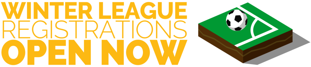 Registrations for our winter leagues are now open!